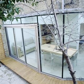Garden Glass Extension, Fulham