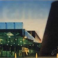 St Helens Glass Visitor Centre night view