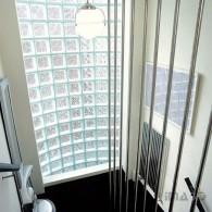 30s Vertical rail screen stair balustrade